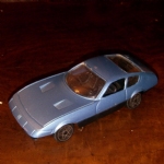 1:43 Polistil Ferrari 365 GTB Daytona very rare metallic blue variation diecast @SOLD@